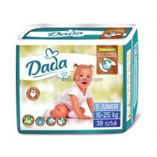 Подгузники Dada 5 Extra Soft Junior 15-25 кг 39 шт