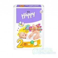 Подгузники Bella Happy 2 Mini 3-6 кг 38 шт