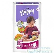 Подгузники Bella Happy 5 Junior 12-25 кг 58 шт