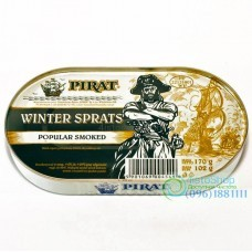 Шпроты в масле Pirat Winter Sprats 170г