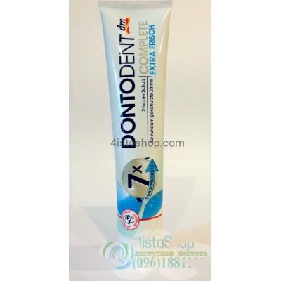 Зубная паста Dontodent 7 Complete Extra Frisch 125ml