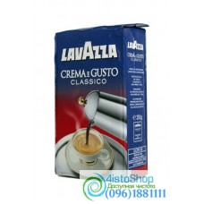 Кофе молотый Lavazza Crema e Gusto Classico брикет 250г