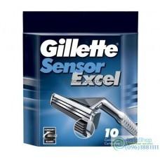 ОРИГИНАЛ!!!! Сменные кассеты для бритья Gillette Sensor Excel 1шт