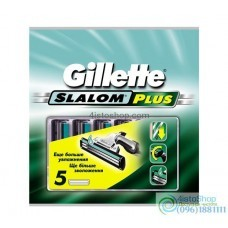 ОРИГИНАЛ!!! Сменные кассеты для бритья Gillette Slalom Plus 1шт