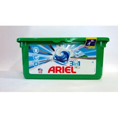 Ariel капсулы 3X action Alpine fresh 30шт