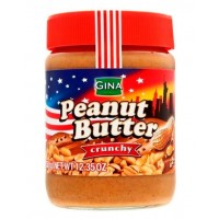 Арахисовая паста Peanut Butter Crunchy Gina 350г