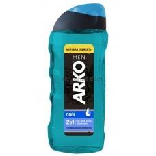 Гель для душа мужской Arko Cool 260мл