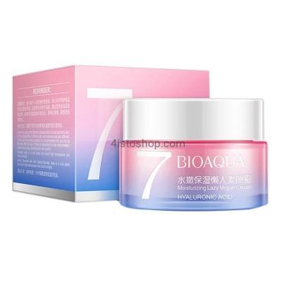 Увлажняющий крем для лица Bioaqua 7 Lasy Vegan 50мл