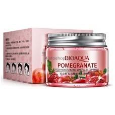 Несмываемая ночная маска BIOAQUA Pomegranate с экстрактом граната и гиалуроновой кислотой 120г
