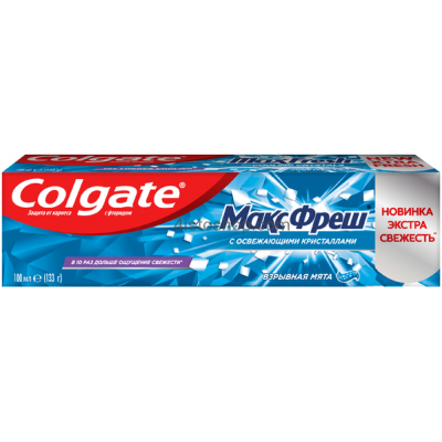 Зубная паста Colgate Max Fresh Взрывная мята гель