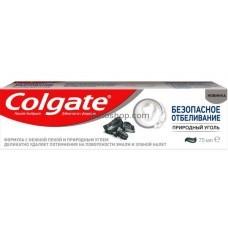 Зубная паста Colgate Безопасное отбеливание Природный уголь 75 мл