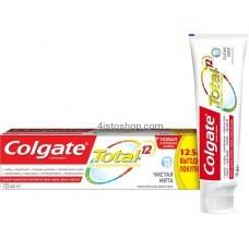 Комплексная зубная паста Colgate Total 12 Чистая мята 125 мл