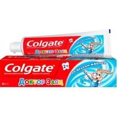 Детская зубная паста Colgate Доктор Заяц со вкусом жевательной резинки 2+ 50 мл