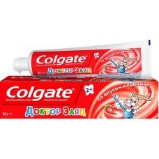 Детская зубная паста Colgate Доктор Заяц со вкусом клубники 2+ 50 мл