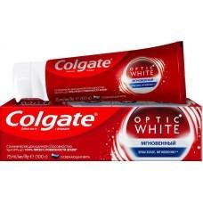 Зубная паста Colgate Optic White Мгновенное отбеливание 75мл