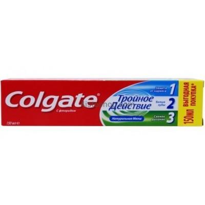 Зубная паста Colgate Тройное Действие 150мл