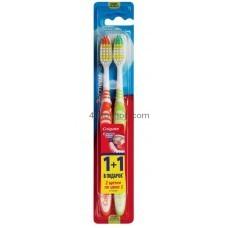 Зубные щетки Colgate Эксперт чистоты средней жесткости 1+1 шт