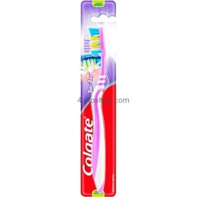 Зубные щетки Colgate ЗигЗаг Плюс средняя жосткость