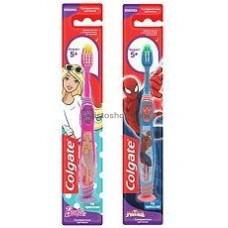 Зубная щетка Colgate Барби, Человек-пук для детей от 5 лет