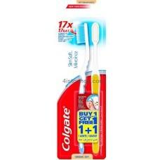 Зубные щетки Colgate Шелковые нити мягкая 1+1 шт