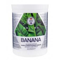 Маска-кондиционер 2 в 1 для укрепления волос Dallas с экстрактом банана 1000 мл