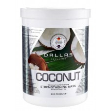 Маска-кондиционер укрепляющая для блеска волос Dallas Coconut 1000 мл