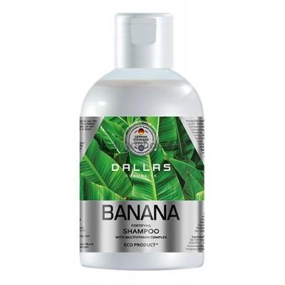 Укрепляющий шампунь с мультивитаминным комплексом Dallas Banana 1000мл