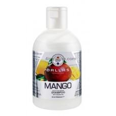 Увлажняющий шампунь для волос Dallas Mango с маслом манго 1000 мл