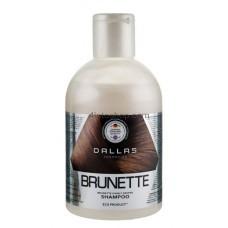 Увлажняющий шампунь для защиты цвета темных волос Dallas 1000мл