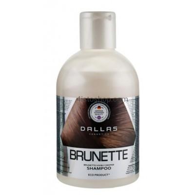 Dallas Brilliant Brunette Shampoo 1000ml