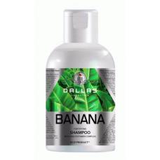 Шампунь укрепляющий с мультивитаминным комплексом Dallas Banana 500 мл