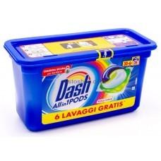 Dash Salva Colore капсулы для стрики цветного белья 3в1 36 шт