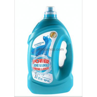 Гель Power Wash De Luxe универсальный 4000 мл