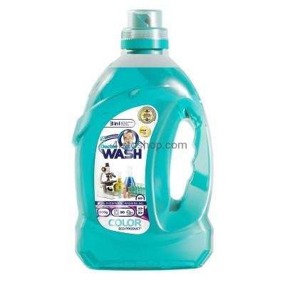 Гель для стирки Doctor wash для цветных вещей  2.1 л