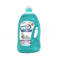 Гель для стирки Doctor wash для цветных вещей, 4,2 л