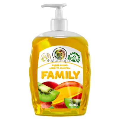 Жидкое мыло Family Киви и манго 500мл