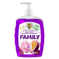 Жидкое мыло Family Маракуйя и камелия 1000мл