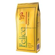 Кофе зерновой Caffe Felice Oro 1кг
