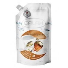 Жидкое мыло Galax антибактериальное Миндаль и увлажняющее молочко DOYPACK  500мл