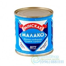 Сгущённое молоко Минскае МАЛАКО 370 г