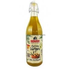 Оливковое масло нефильтрованное Monterico Aceite de Oliva virgen extre 1л