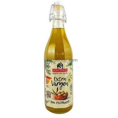 Оливковое масло нефильтрованное Monterico Aceite de Oliva virgen extre 1000мл