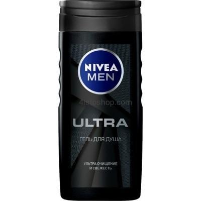 Гель для душа Nivea мужской с натуральной глиной 250 мл