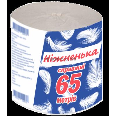 Туалетная бумага 65м ТМ Нижненька