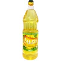 Подсолнечное масло Ольвия рафинированное 1л
