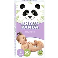Подгузники Снежная Панда 4 Maxi 7-18 кг 50 шт