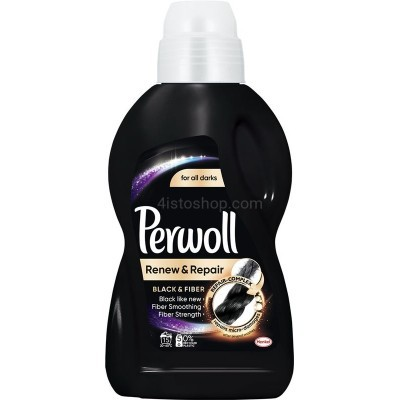 Гель для стирки черного белья Perwoll Black  Fiber 900 мл