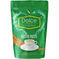 Кофе растворимый Dolce Aroma Gusto Ricco 120гр