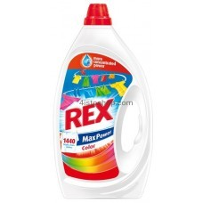 Rex гель для стирки Max Power для цветных вещей 3л