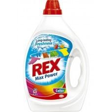 Rex гель для стирки Max Power для цветных вещей 2л